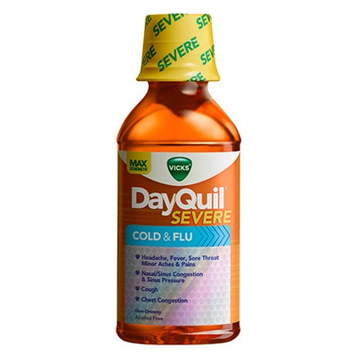 DayQuil™ SEVERE Cold & Flu Relief Liquid