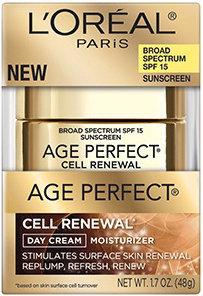 L'Oréal Paris Age Perfect® Cell Renewal Day SPF 15 Cream