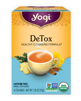 Yogi Tea DeTox Herbal Tea