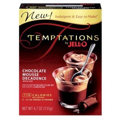 JELL-O Temptations Chocolate Mousse Decadence Dessert Kit