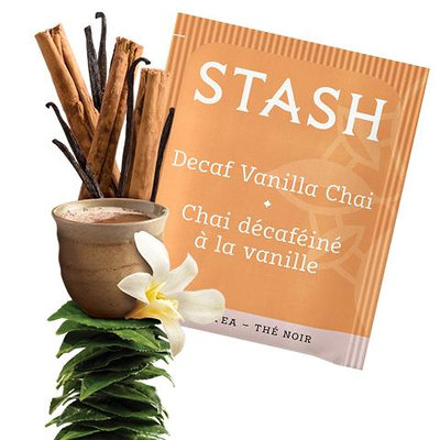 Stash Tea Vanilla Chai Decaf Black Tea