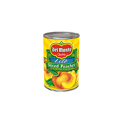 Del Monte® Sliced Yellow Cling Peaches - Lite