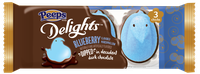 PEEPS® Delights™ Blueberry Flavored Marshmallow Dipped in Dark Chocolate