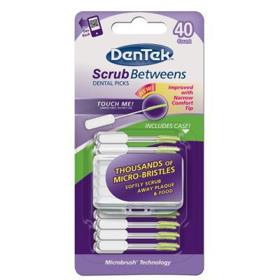 DenTek® Scrub Between Disposable Dental Picks
