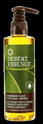 Desert Essence Thoroughly Clean Face Wash Original Reviews