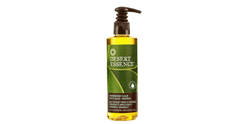 Desert Essence Thoroughly Clean Face Wash Original Reviews
