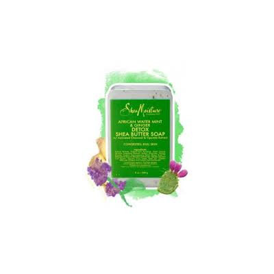 SheaMoisture African Water Mint and Ginger Detox Shea Butter Soap