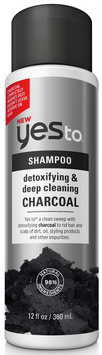 Yes To Charcoal Detoxifying & Deep Cleaning Charcoal Shampoo