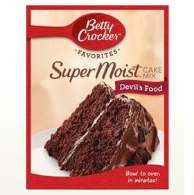 Betty Crocker™ Super Moist™ Favorites Devil's Food Cake Mix