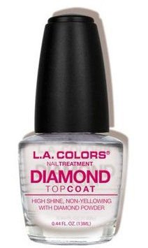 L.A. Colors Diamond Top Coat Treatment