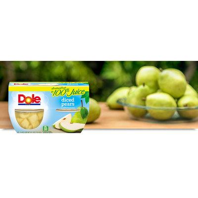 Dole Diced Pears In 100% Fruit Juice
