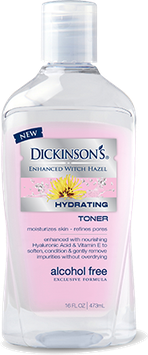 DICKINSON'S® Enhanced Witch Hazel Hydrating Toner with Rosewater