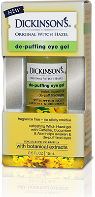 Dickinson's Original Witch Hazel De-Puffing Eye Gel