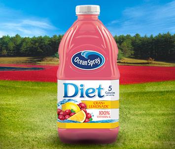 Ocean Spray Diet Cranberry Lemonade™ Juice Drink