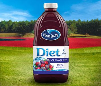 Ocean Spray Diet Cran•Grape® Cranberry Grape Juice Drink