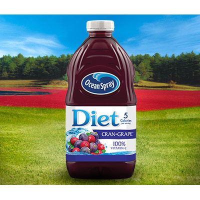 Ocean Spray Diet Cran•Grape® Cranberry Grape Juice Drink