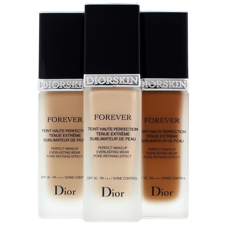 Dior Diorskin Forever Perfect Makeup Everlasting Wear Pore-Refining Effect Reviews 2019