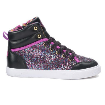 Disney D-Signed Glitter Girls' High Top Shoes