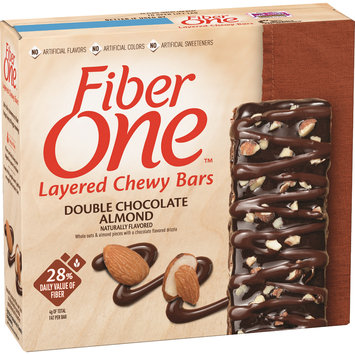 Fiber One Double Chocolate Almond Layered Chewy Bars