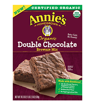 Annie's® Double Chocolate Brownie Mix