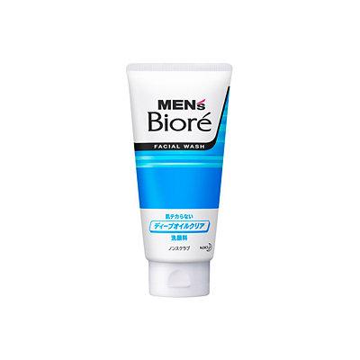 Bioré Men's Double Oil Control Cooling Facial Wash