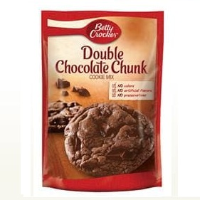 Betty Crocker™ Double Chocolate Chunk Cookie Mix