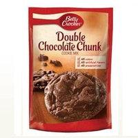Betty Crocker™ Double Chocolate Chunk Cookie Mix