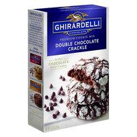Ghirardelli Double Chocolate Crackle Premium Cookie Mix