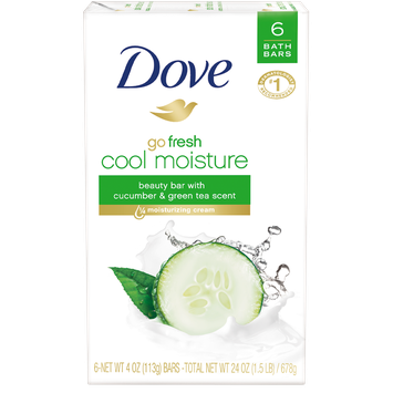 Dove Beauty Bars Go Fresh Cool Moisture