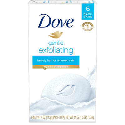 Dove Beauty Bar Gentle Exfoliating