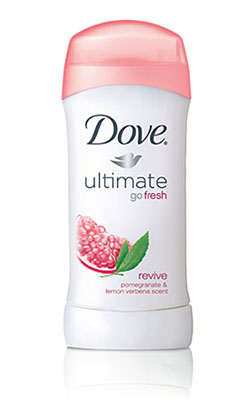 Dove® Go Fresh Revive Anti-Perspirant Pomegranate & Lemon Verbena Scent