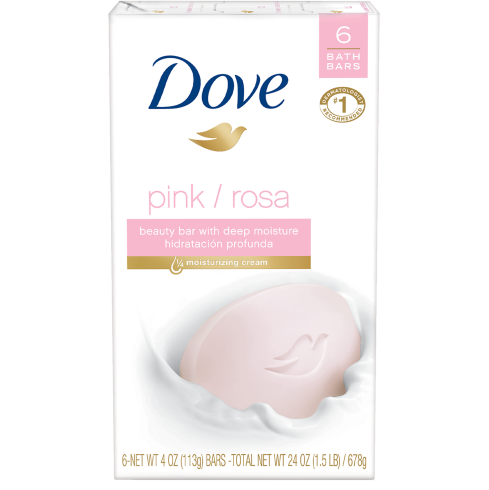 Dove Pink Beauty Bar