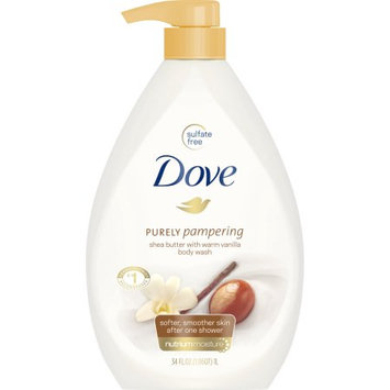 Dove Purely Pampering Shea Butter with Warm Vanilla Body Wash 34 Oz