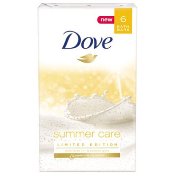 Dove Summer Care Beauty Bar 4 Oz 6 Bar