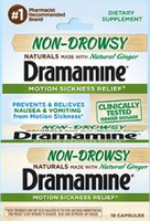 Dramamine® Non-Drowsy Naturals
