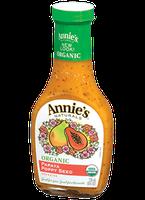 Annie's® Naturals Organic Papaya Poppy Seed Dressing