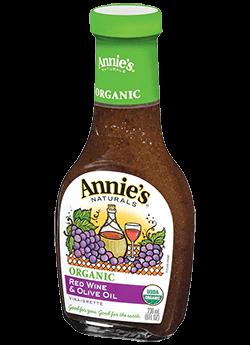 Annie's® Naturals Organic Red Wine & Olive Oil Vinaigrette