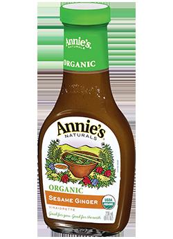 Annie's® Naturals Organic Sesame Ginger Vinaigrette