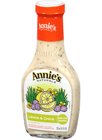 Annie's®  Naturals Lemon & Chive Dressing Vinegar Free