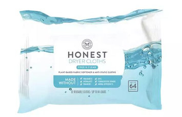 The Honest Co. Dryer Cloths Free and Clear