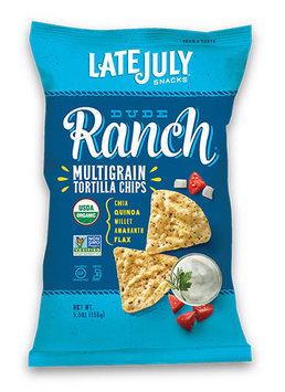 Late July® Snacks Multigrain Tortilla Chips Dude Ranch