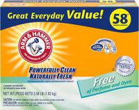 ARM & HAMMER™ Powder Laundry Detergent Perfume & Dye Free