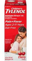 Tylenol® Children's Dye Free Cherry Oral Suspension