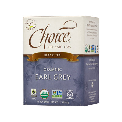 Choice Organic Teas Earl Grey Black Tea