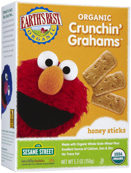 Earths Best Earth's Best Crunchin' Grahams - Honey Sticks - 1 ct.