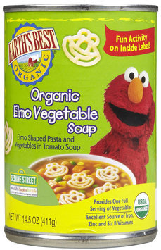Earths Best Earth's Best Elmo Vegetable Soup - 12 pk