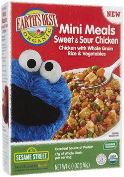 Hain Celestial Earth's Best Sesame Street Mini Meals Sweet & Sour Chicken