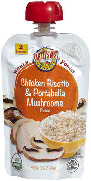 Hain Celestial Earth's Best World Foods Chicken Risotto & Portabello Mushrooms Pouch - 3.5 oz