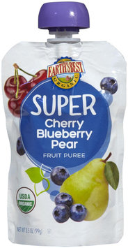 Hain Celestial Earth's Best Cherry Blue Pear Pouch Puree - 3.5 oz