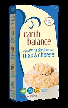 Earth Balance Vegan White Cheddar Flavor Mac & Cheese